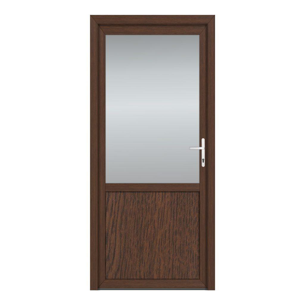 тип 7 межкомнатной двери пвх со стеклом