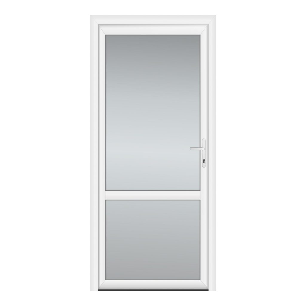 тип 4 межкомнатной двери пвх со стеклом