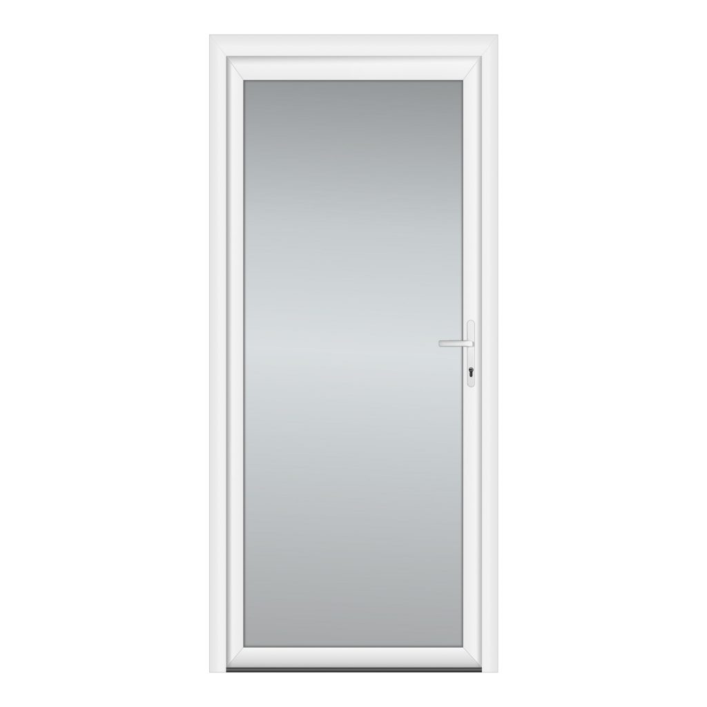 тип 3 межкомнатной двери пвх со стеклом