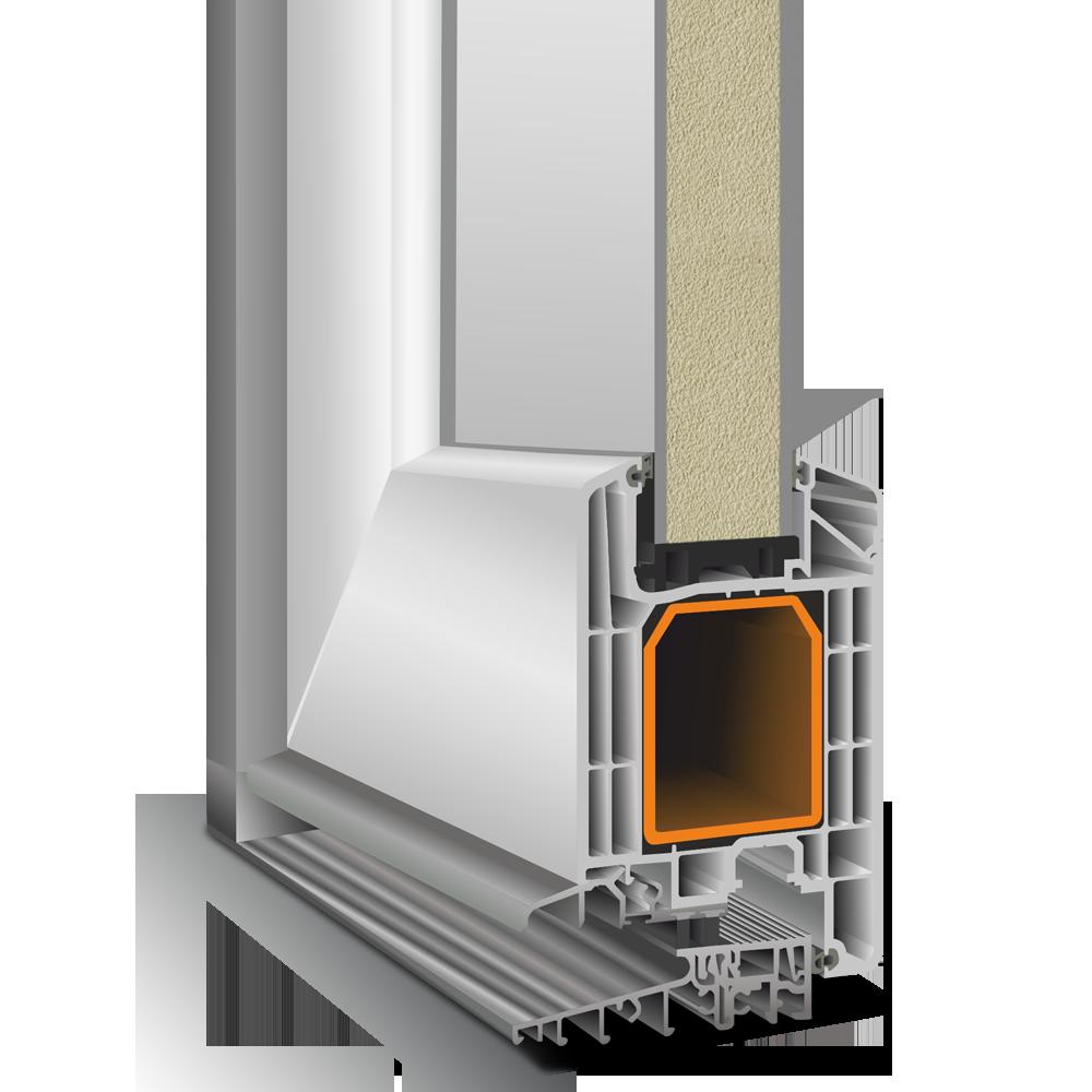 профіль дверний Eforte