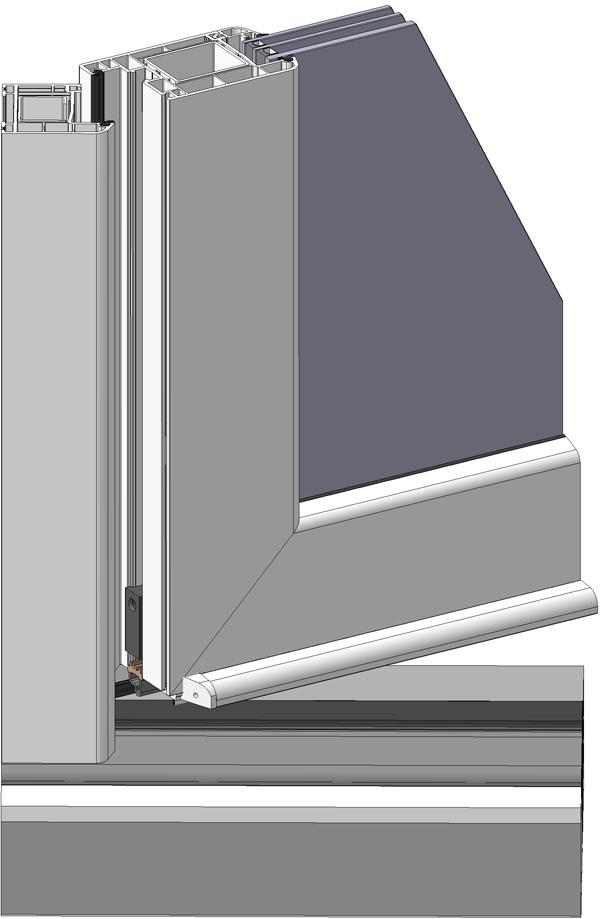 накладка на дверной порог пвх - фото Континент (Смела)