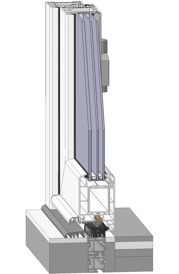 дверной порог - фото Континент (Смела)