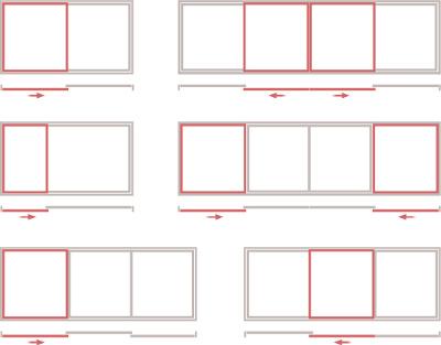 типы открывания раздвижных дверей Хиби Шиби - схема завода Континент (Смела)