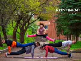 Компания Континент приняла участие в благотворительном фестивале тимбилдинга Summer Challenge