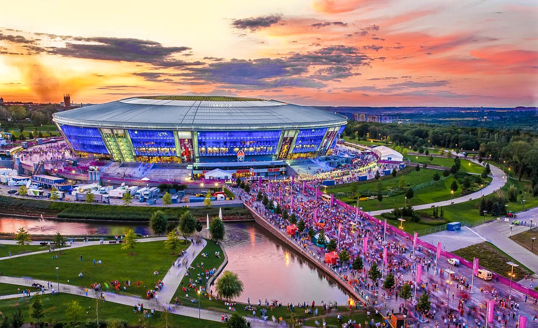 13. Стадион ДОНБАСС АРЕНА (Донецк)